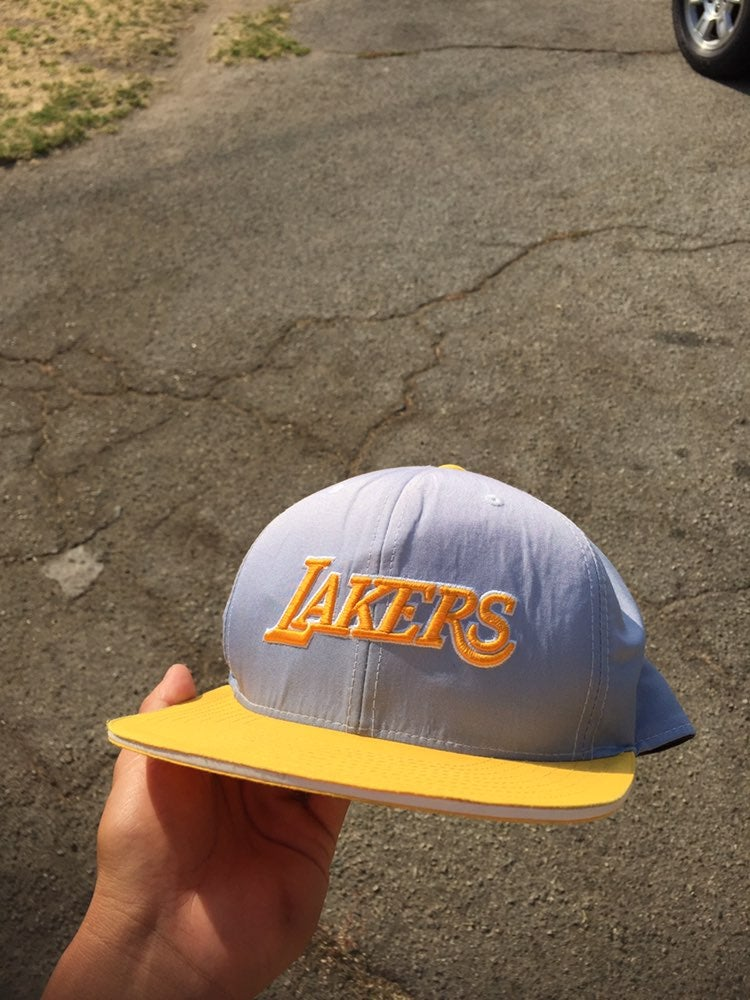 Mitchell and Ness Los Angeles Lakers Hat