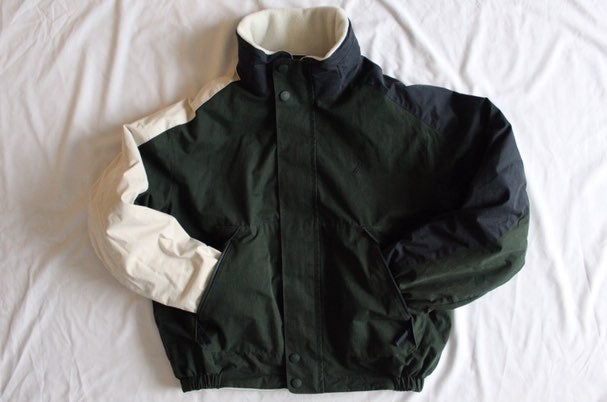 Vtg Nautica Reversible Coat Men's M