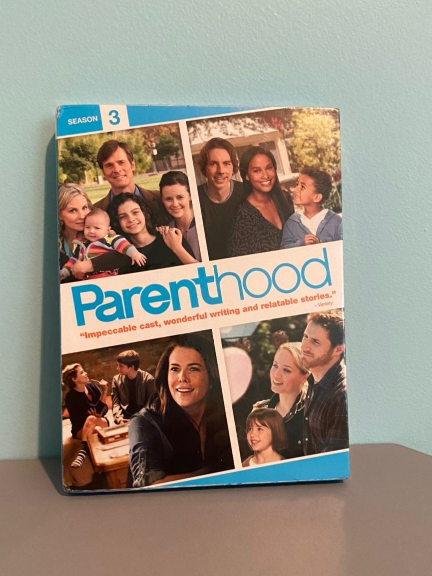 New parenthood season 3 dvd