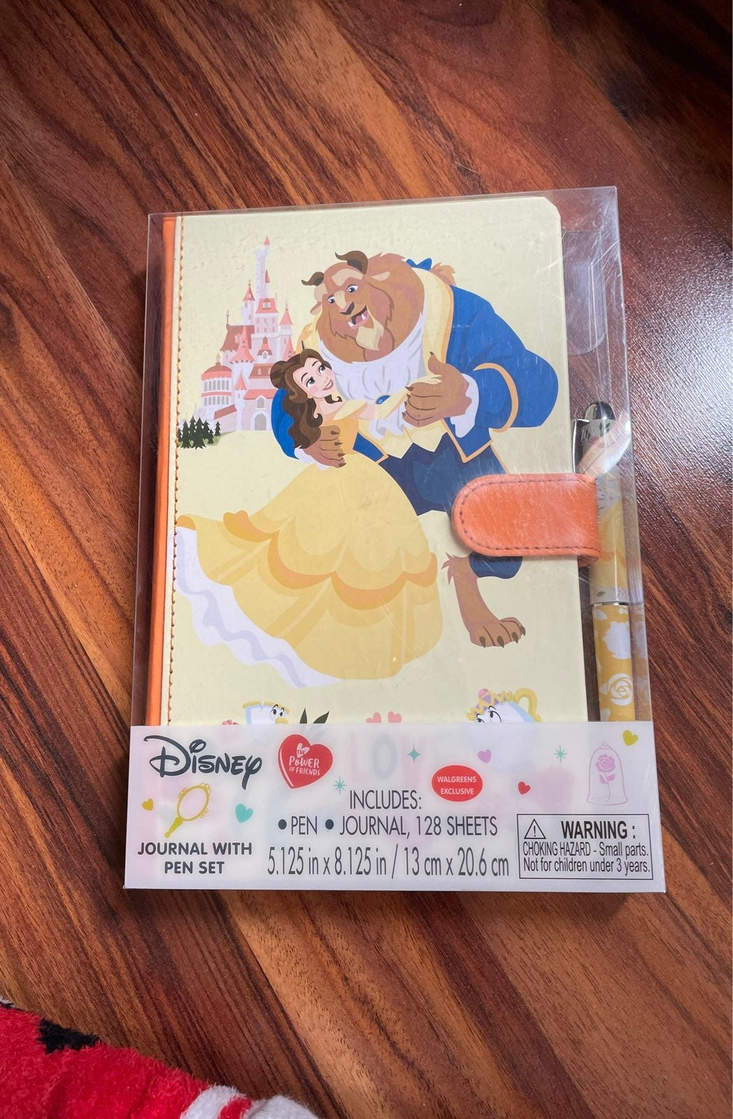 Disney Belle Hardback Journal with Pen
