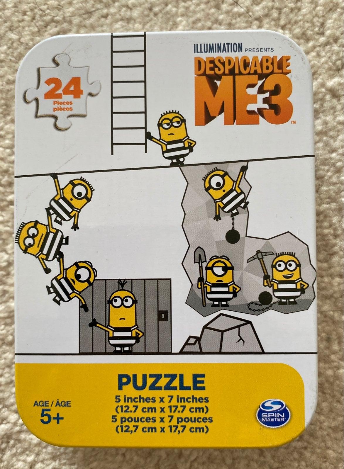 NEW Despicable Me 3 Puzzle