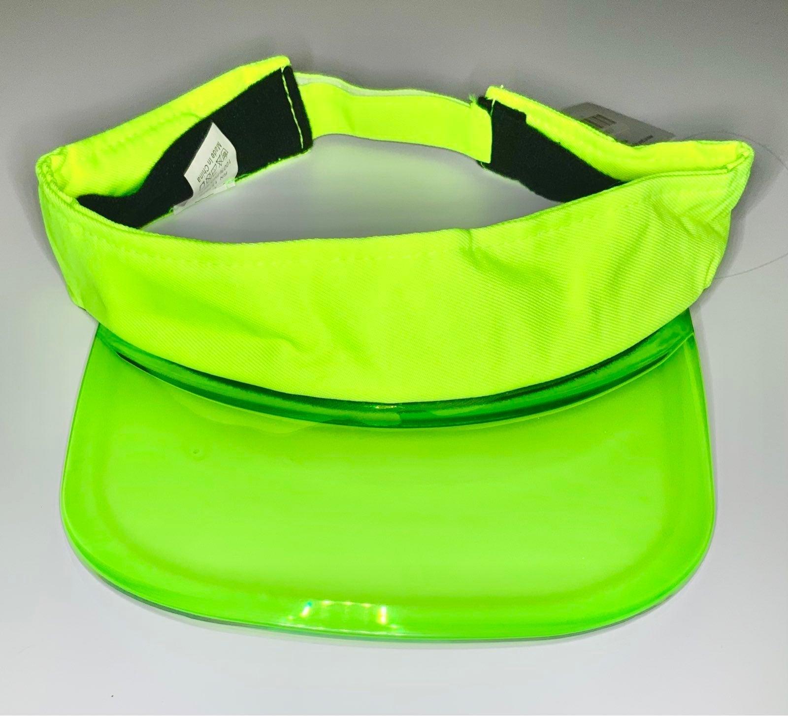 Fashion Nova lime green visor