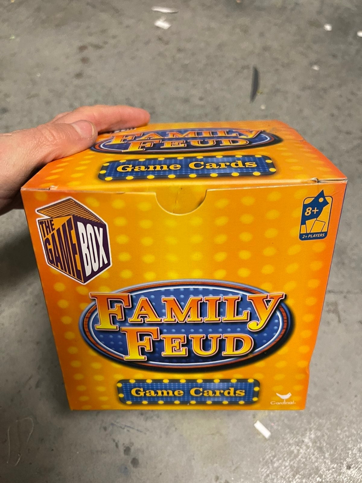 Family Fued Game Cards
