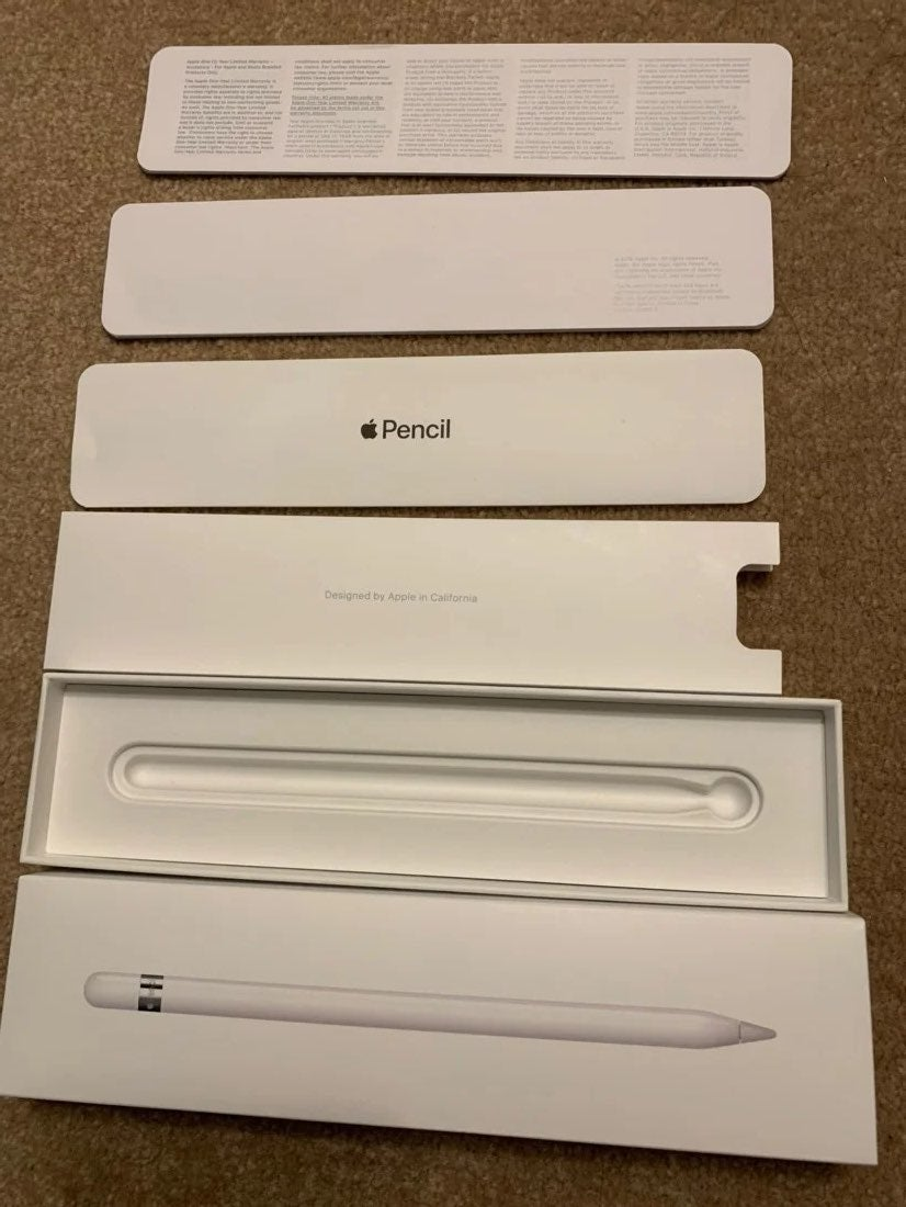 Apple pencil box only