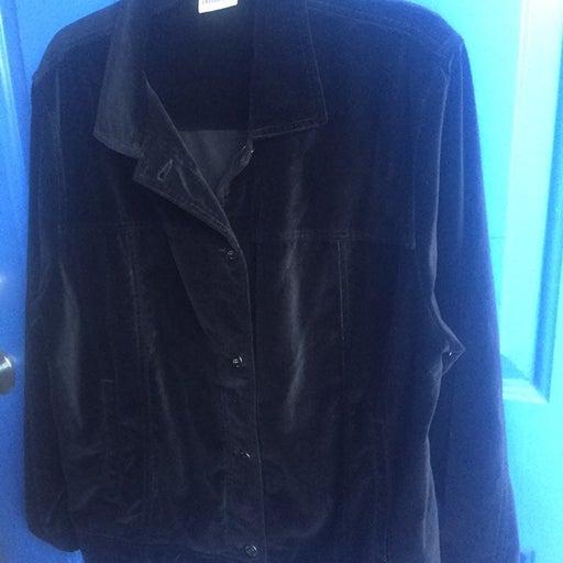 Velvet ladies jacket