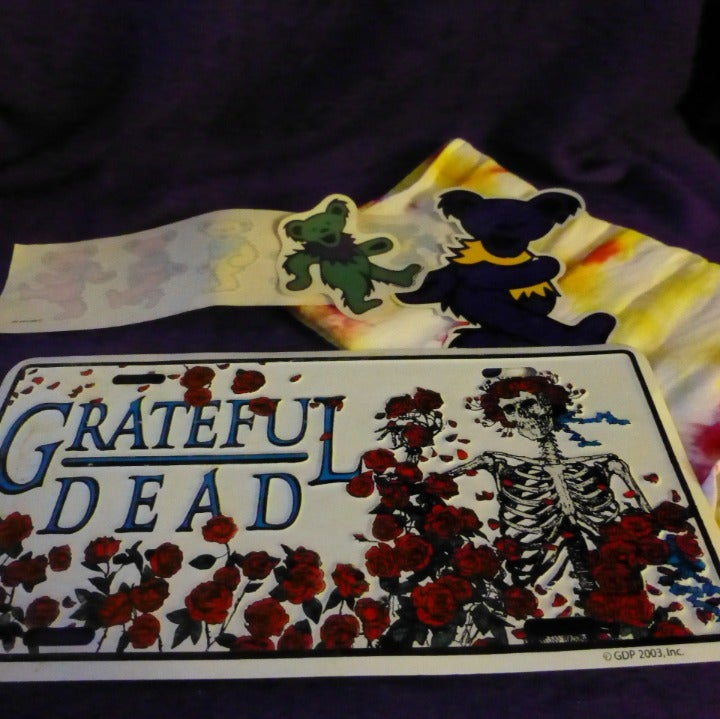 Grateful Dead License Plate @ Bandana