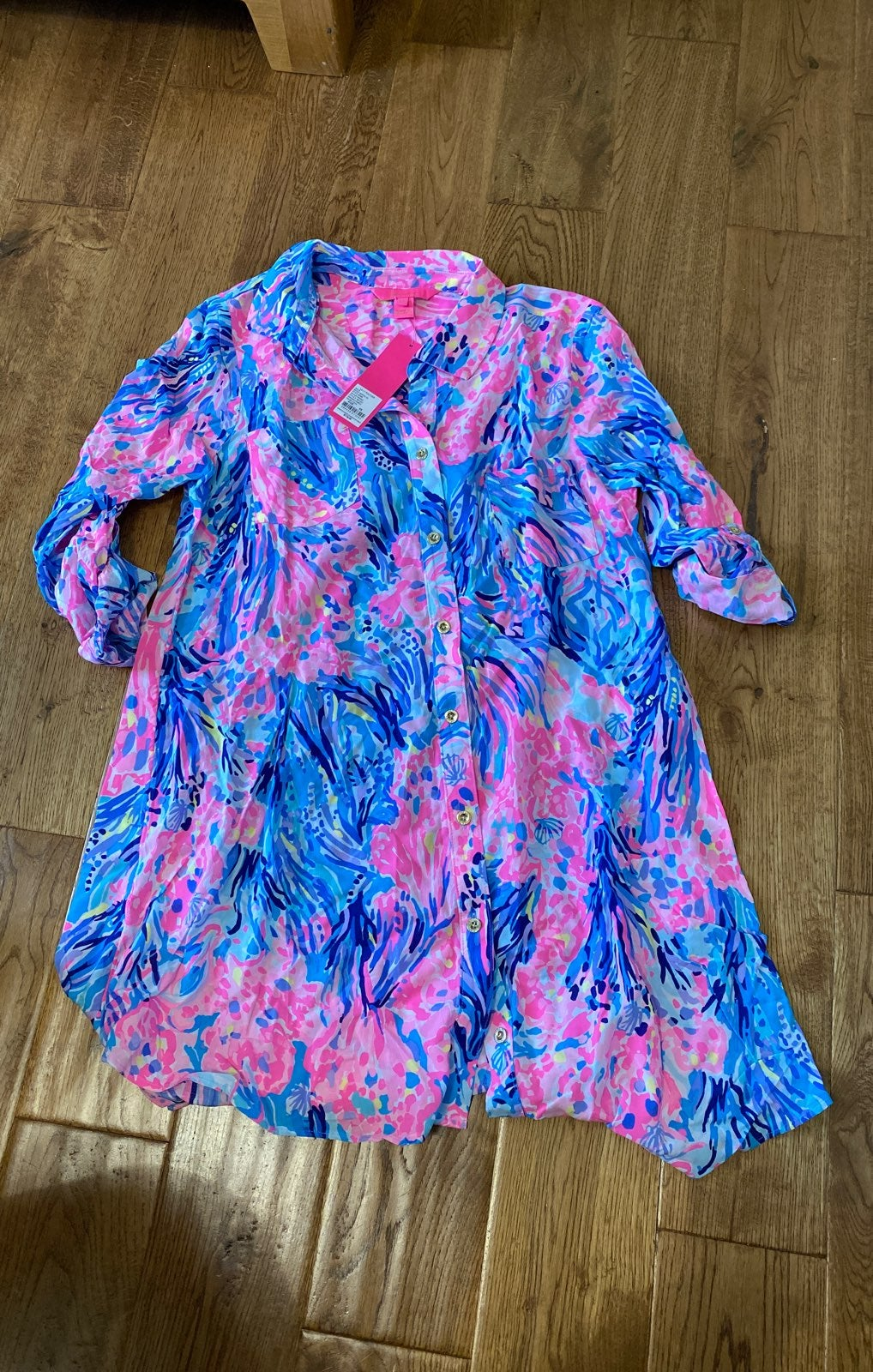 Nwt lilly pulitzer natalie swim cover up