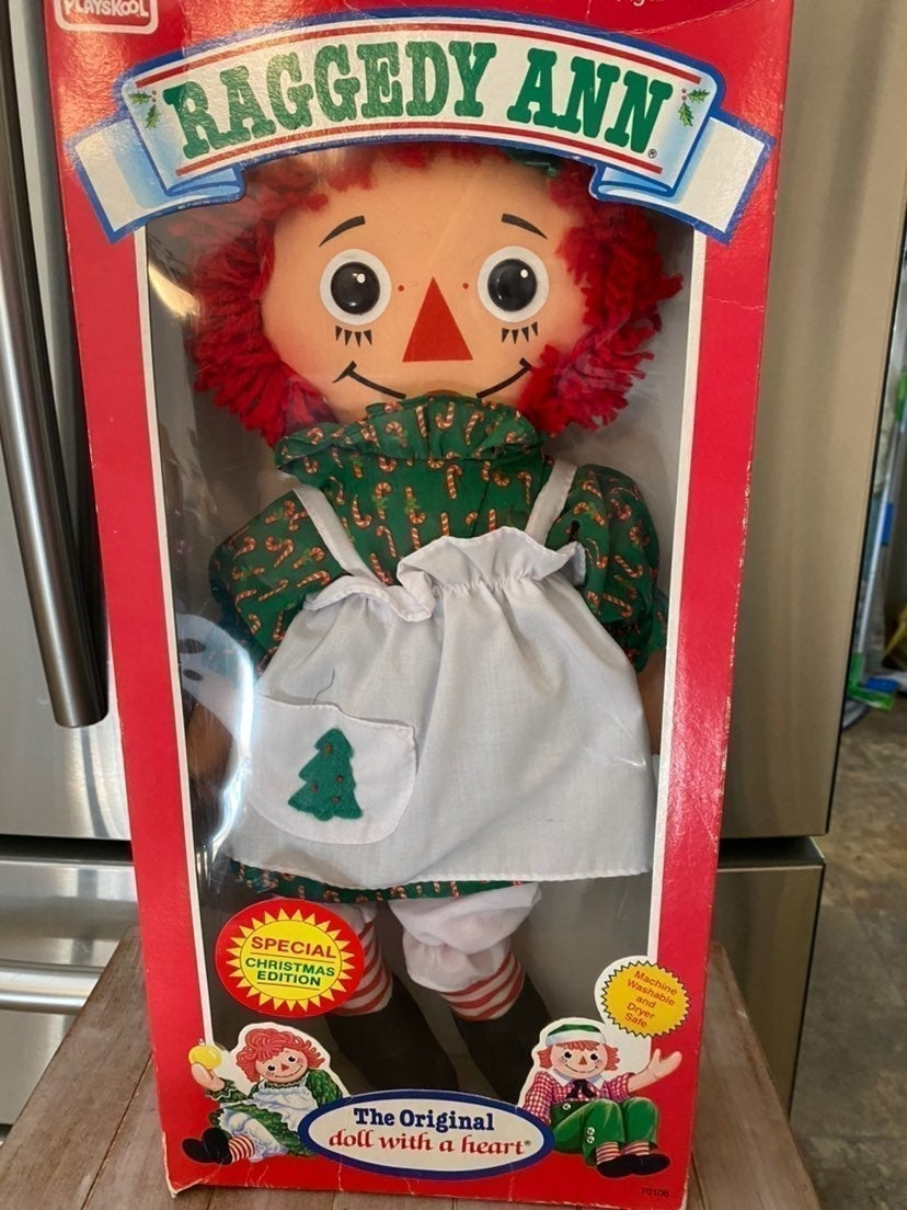 Christmas edition Raggedy  Ann