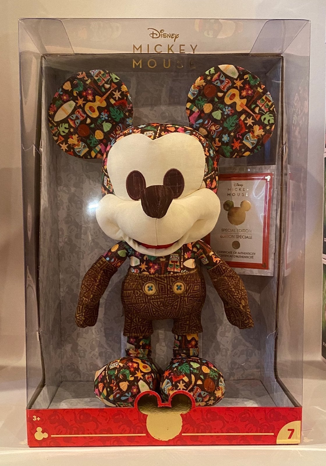 Disney Limited Edition Tiki Mickey Mouse