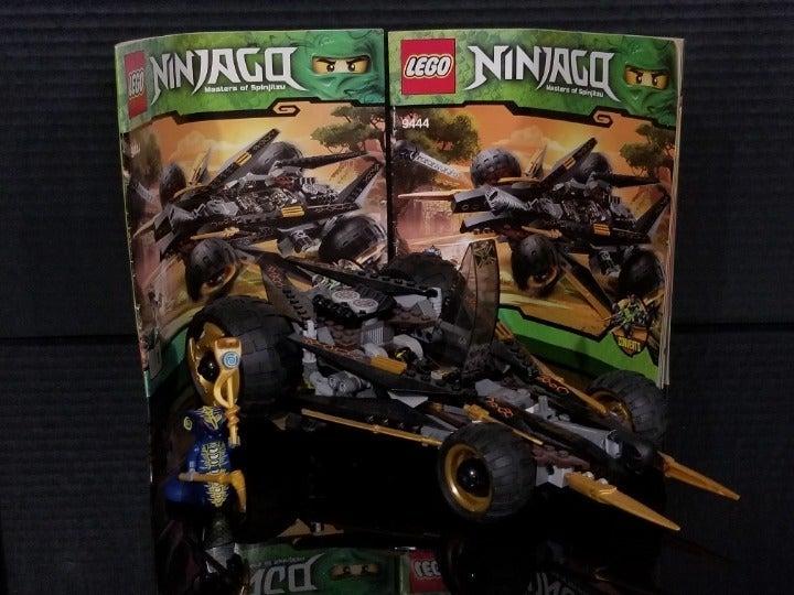 LEGO Ninjago 9444 Cole's Tread Assault