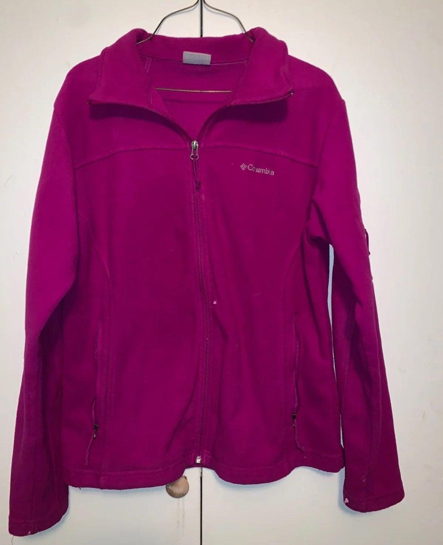 Womens Columbia jacket pink
