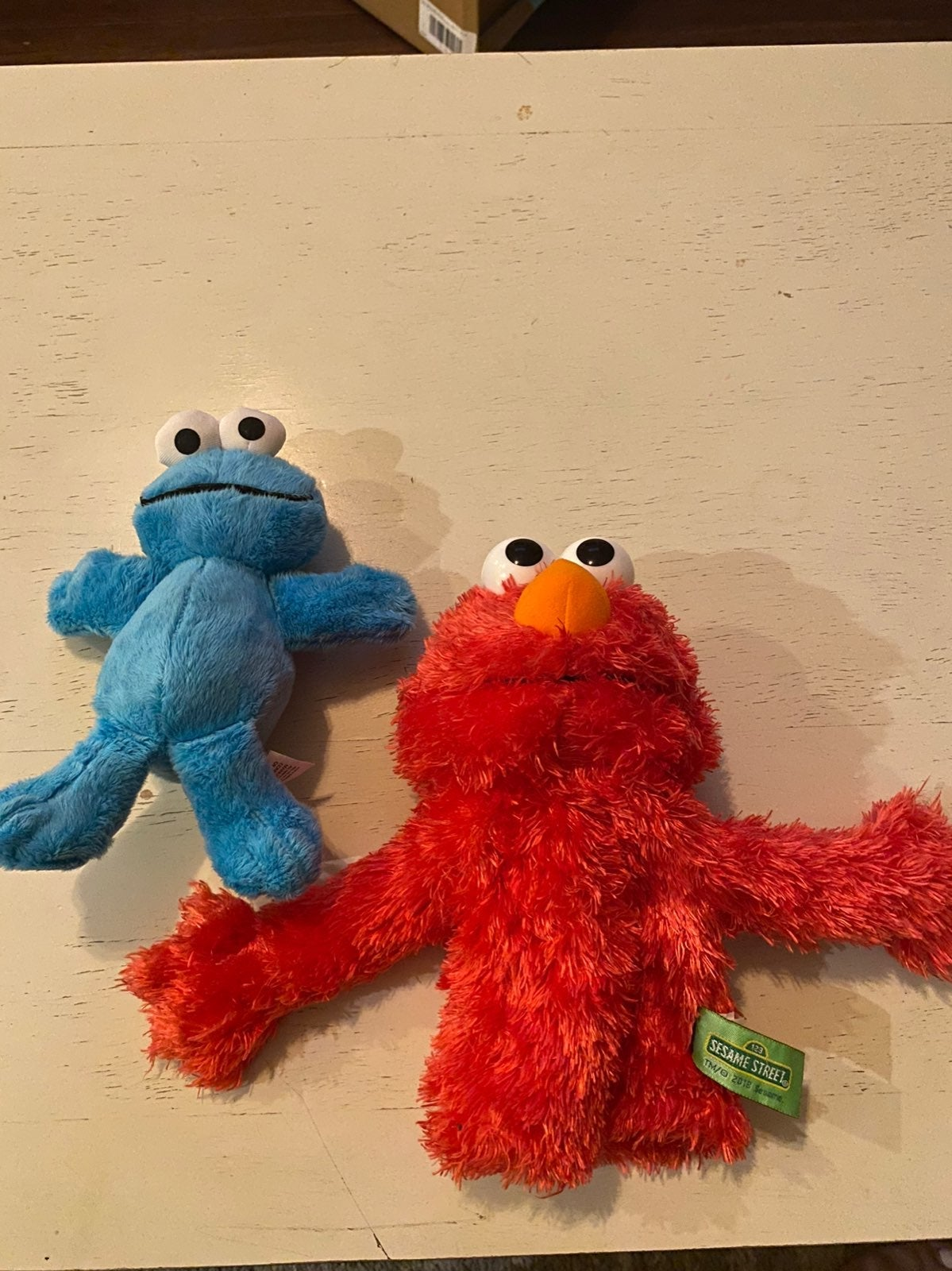 Brand New Elmo Puppet&Cookie Monster Toy