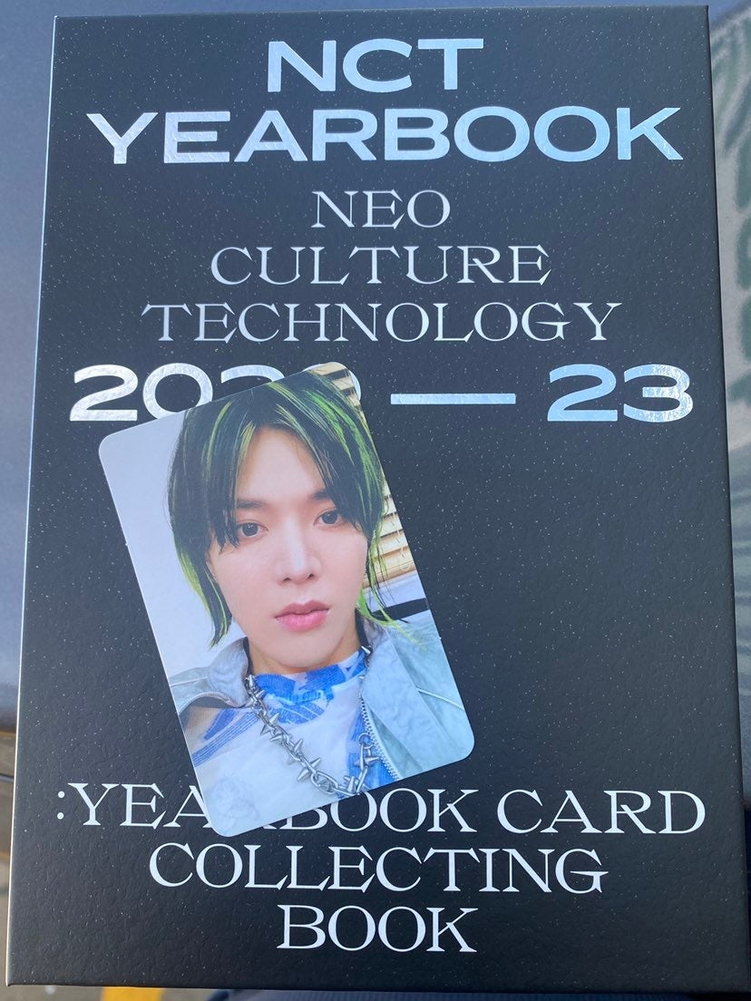 Yura nct 2020 yearbook collect book