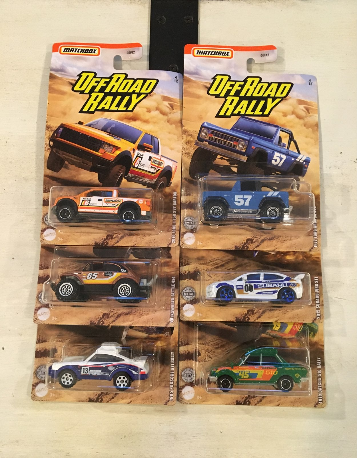 Matchbox Off-Road Rally Set!!