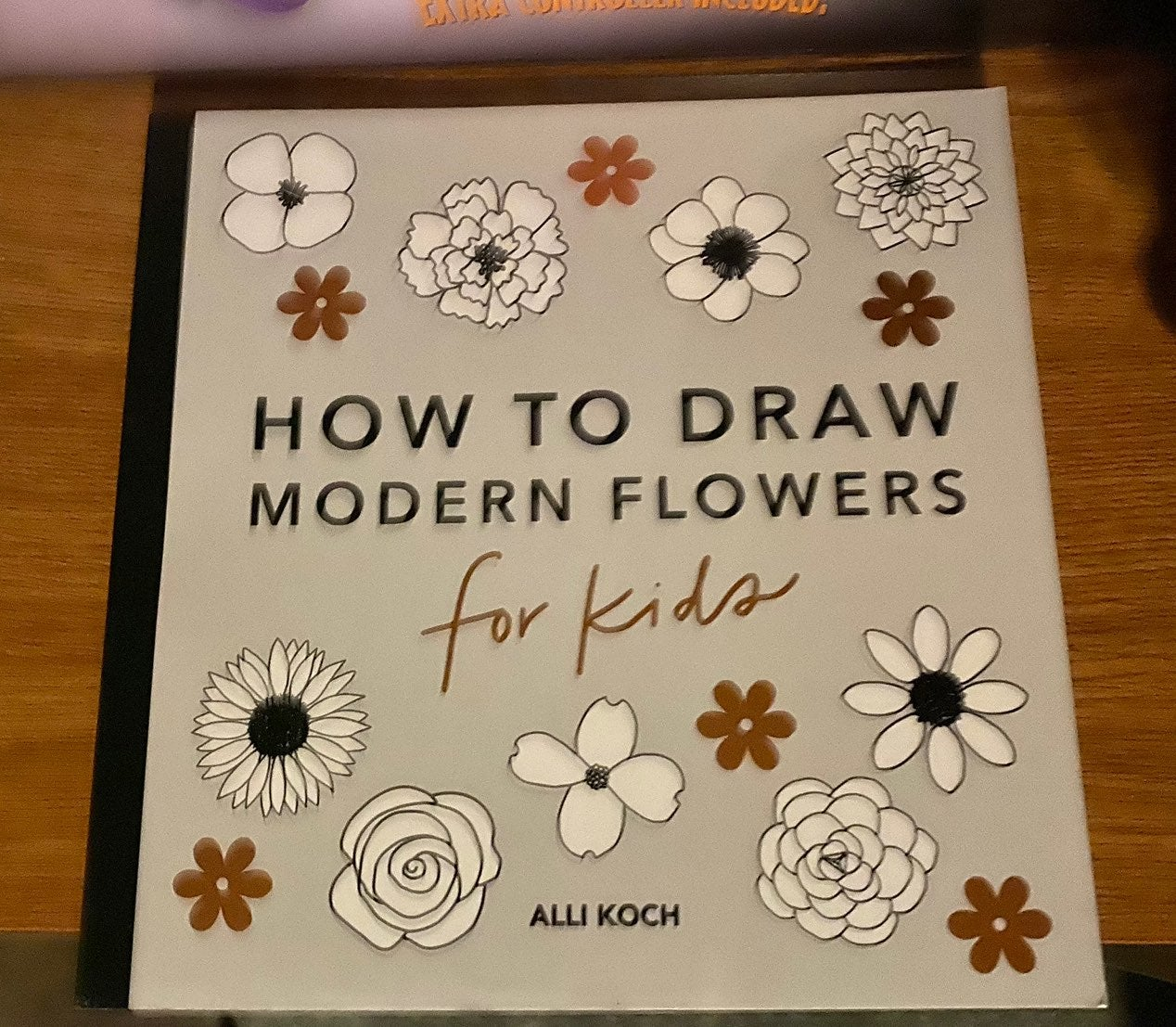 How to Draw Flowers Book for Kids