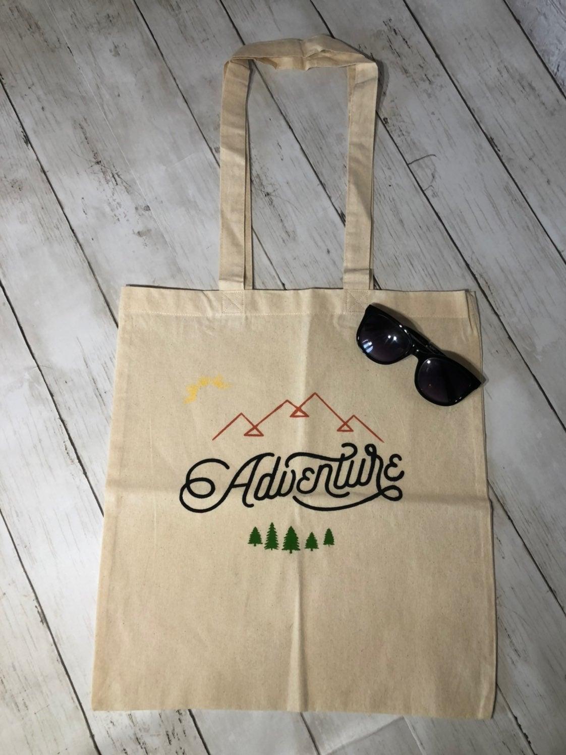 Adventure Canvas Tote Bag