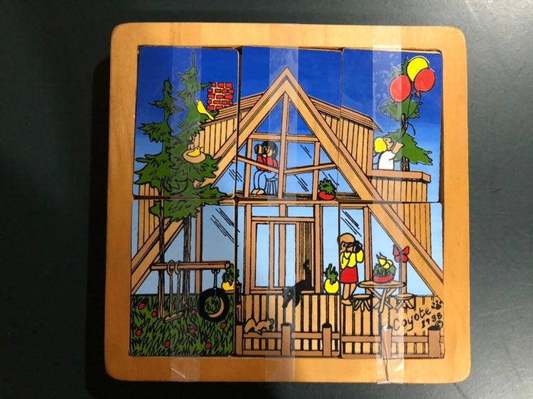 Coyote Collections wooden puzzle