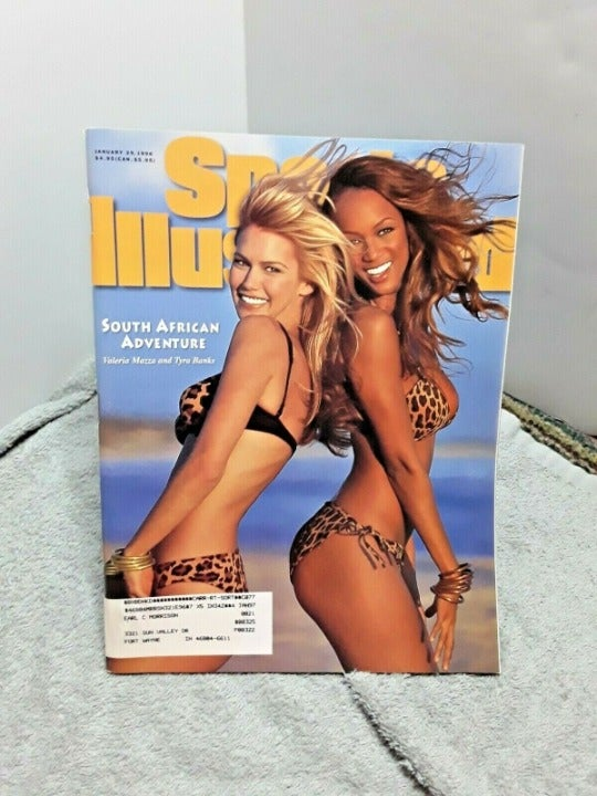 Sports Illustrated Swimsuit 96 T Banks