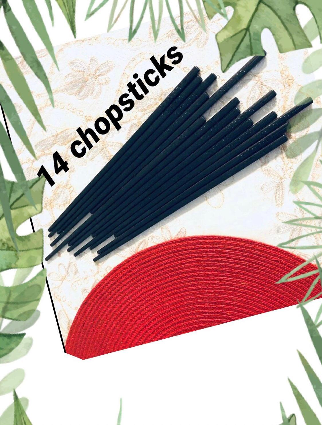 Chopsticks - set of 14