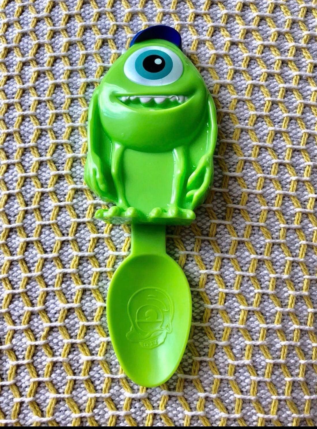 Disney pixar green spoon - new