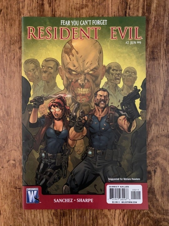 RESIDENT EVIL #2 2009 VF/NM WILDSTORM