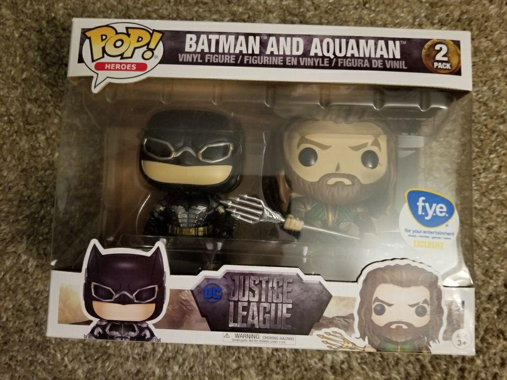 Batman & Aquaman Funko 2-Pack