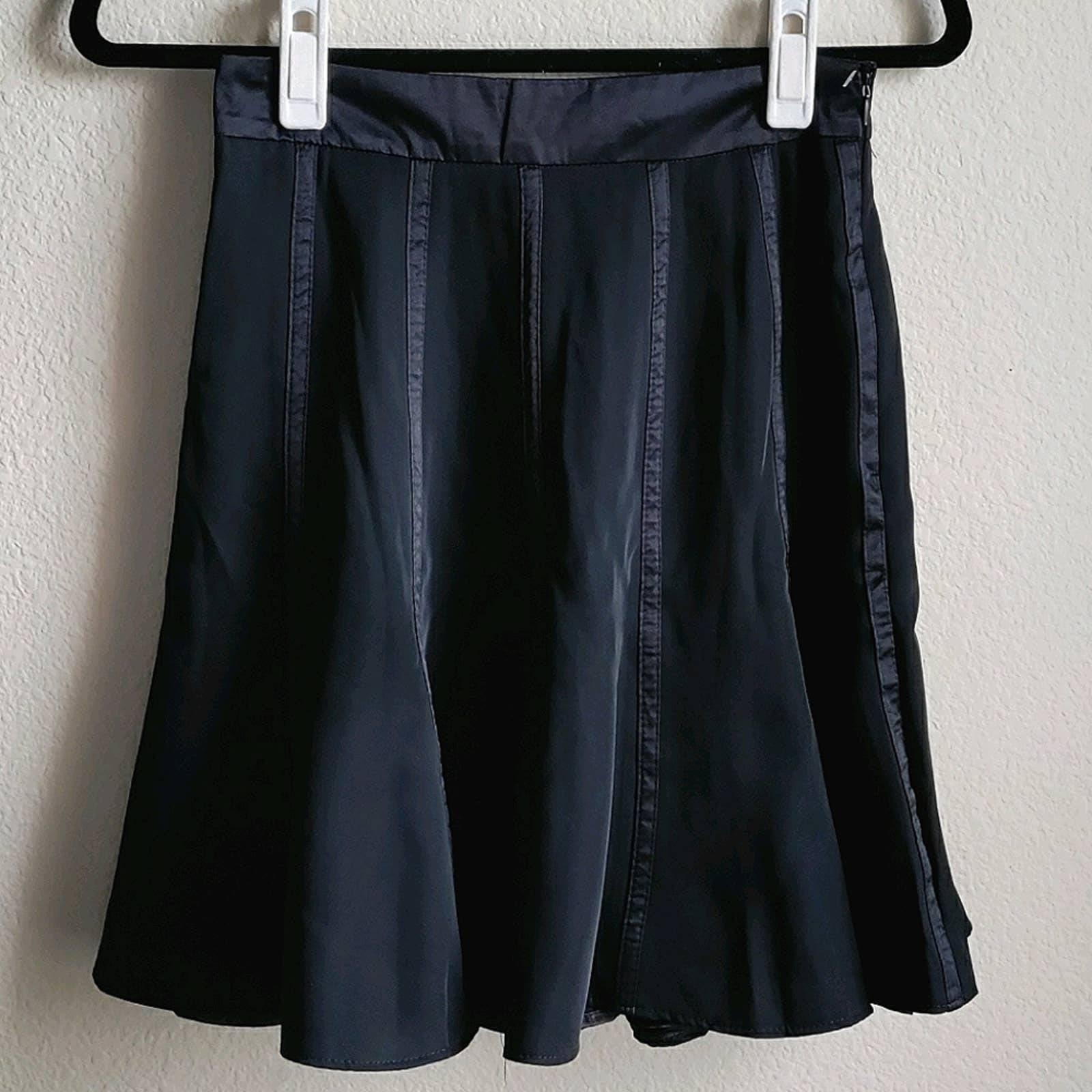 Forever 21 Black Knee Length Skirt