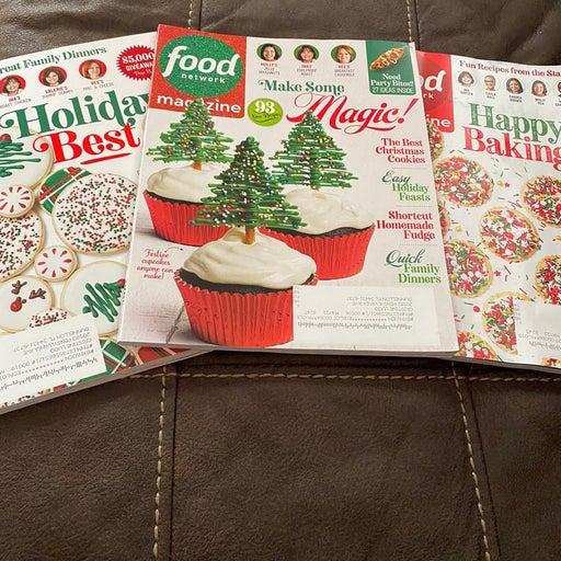 Food Network Holiday Magazines