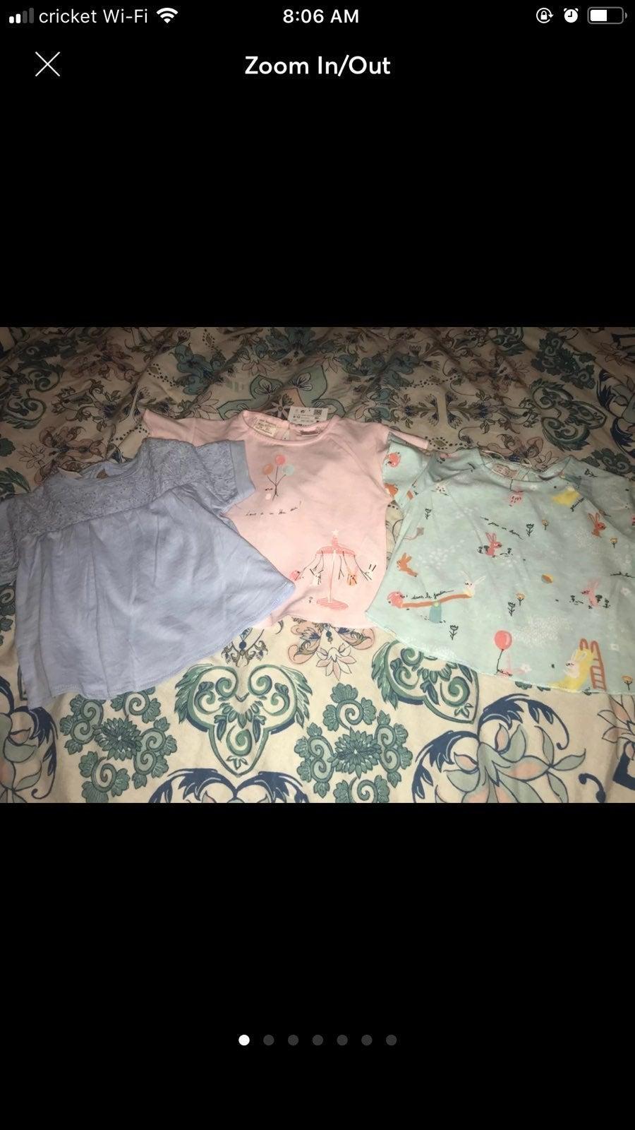 3 Zara Baby Shirts