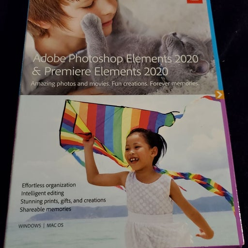 Adobe Photoshop Elements 2020 and Premie