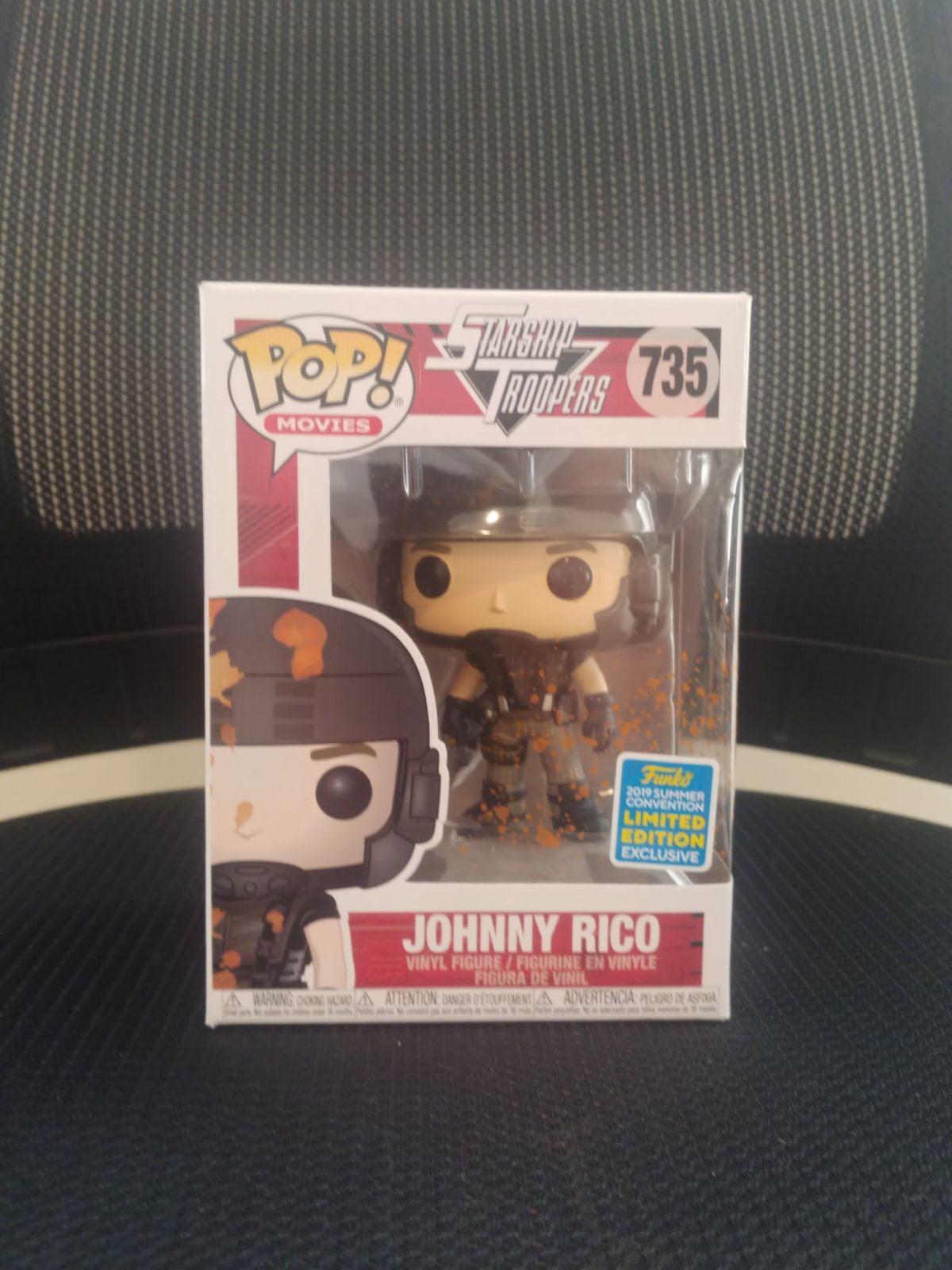 Johnny Rico SDCC 2019 735 Pop! Movies