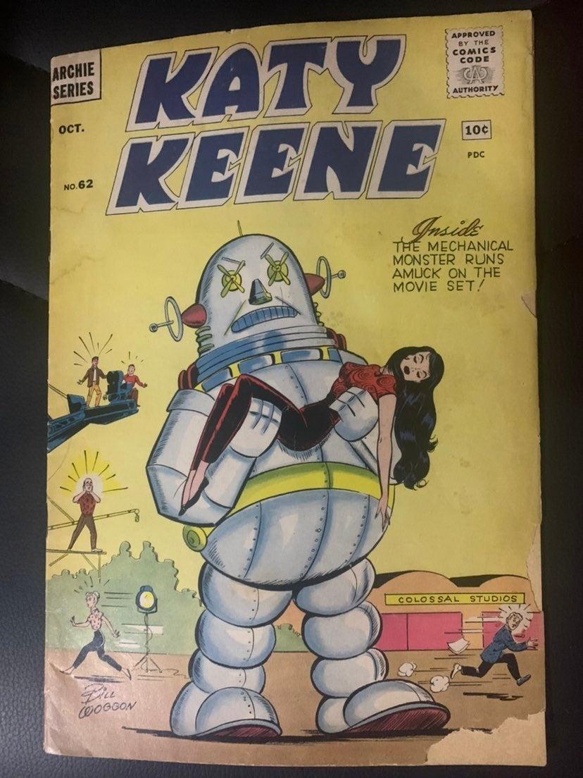 Katy Keen 62 Comic