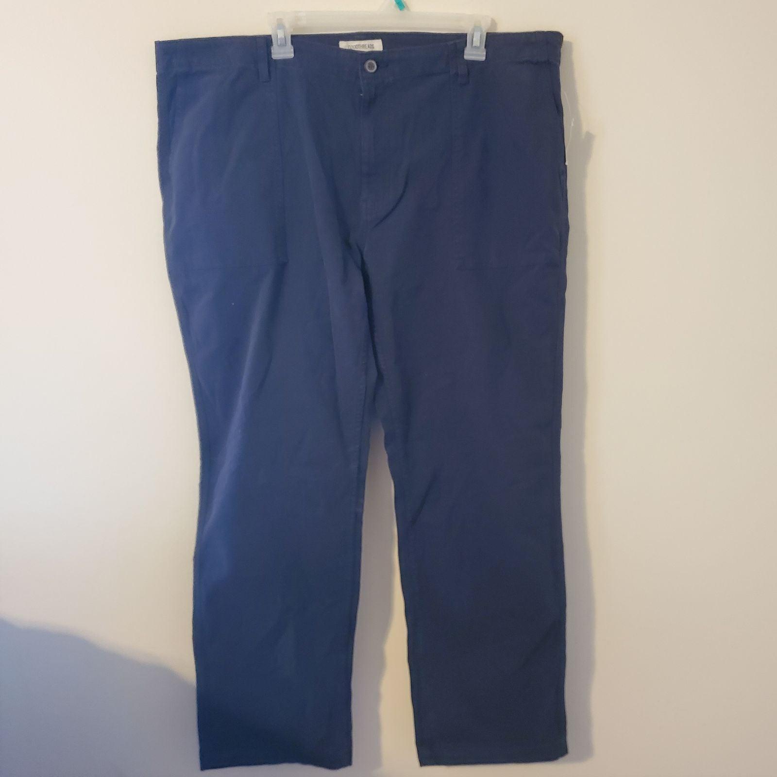 NWT Men's GoodThreads Navy Blue Straight