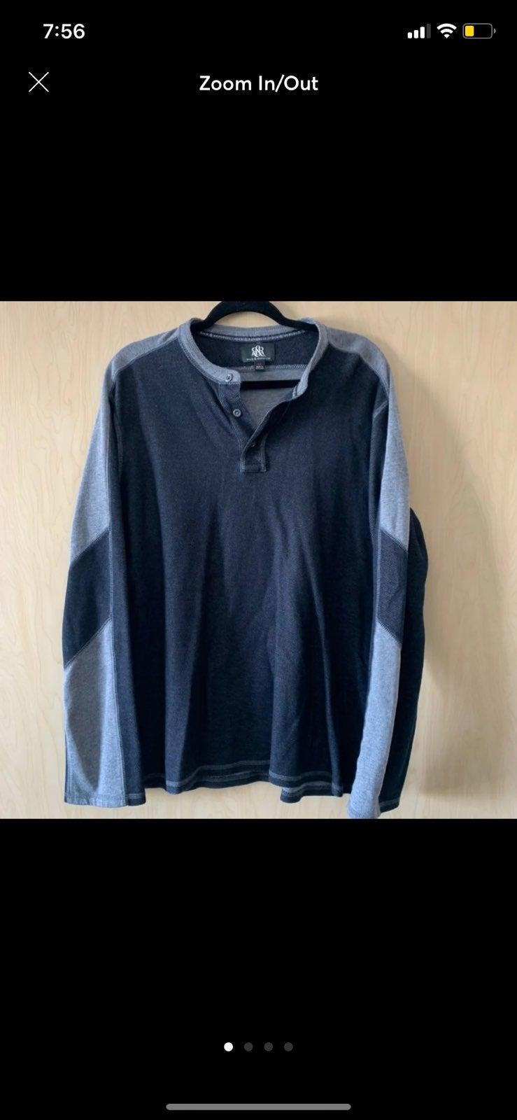 Rock & Republic   Gray Long Sleeve   XL