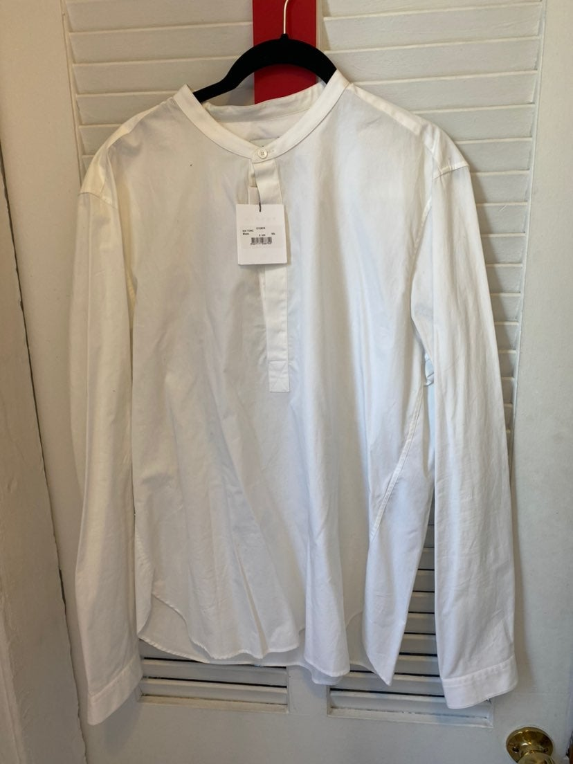 NWT Sandro White Button Down Retail $220