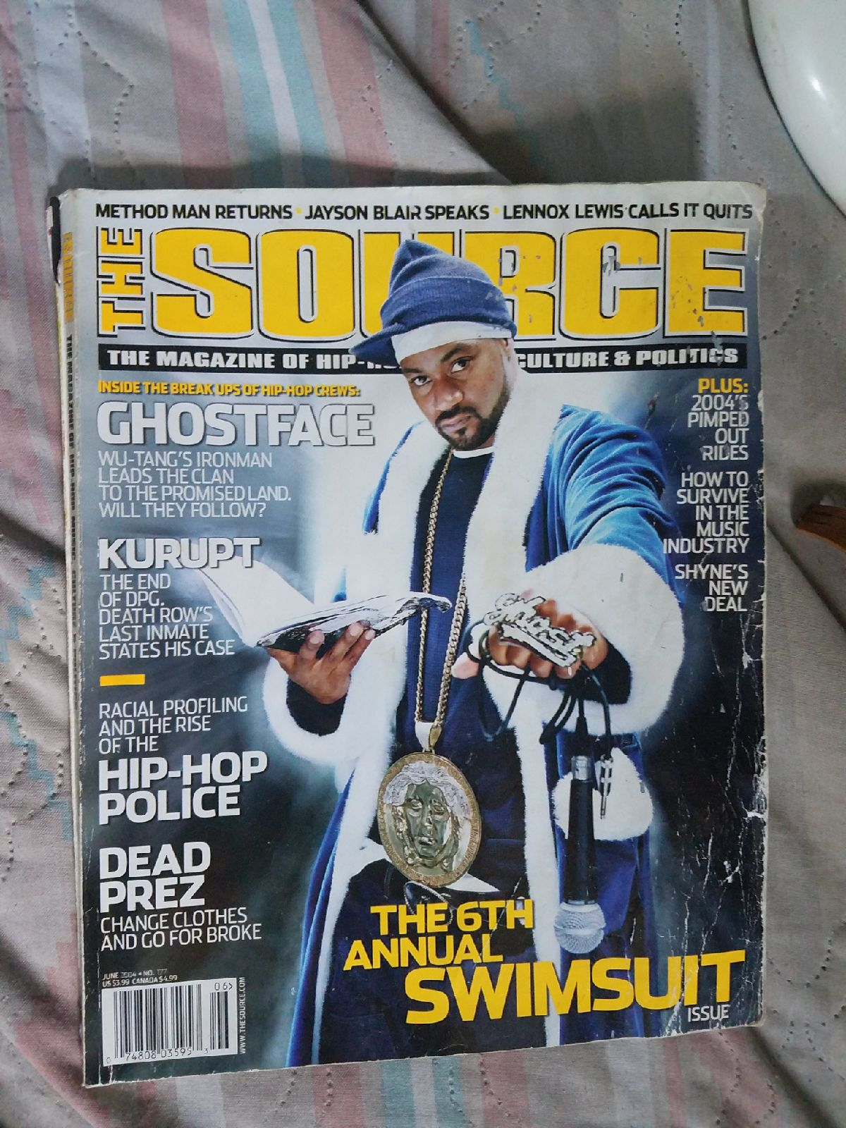 Ghostface The Source Magazine