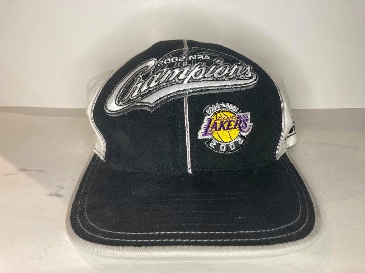 Los Angeles Lakers 2002 NBA Champs Hat
