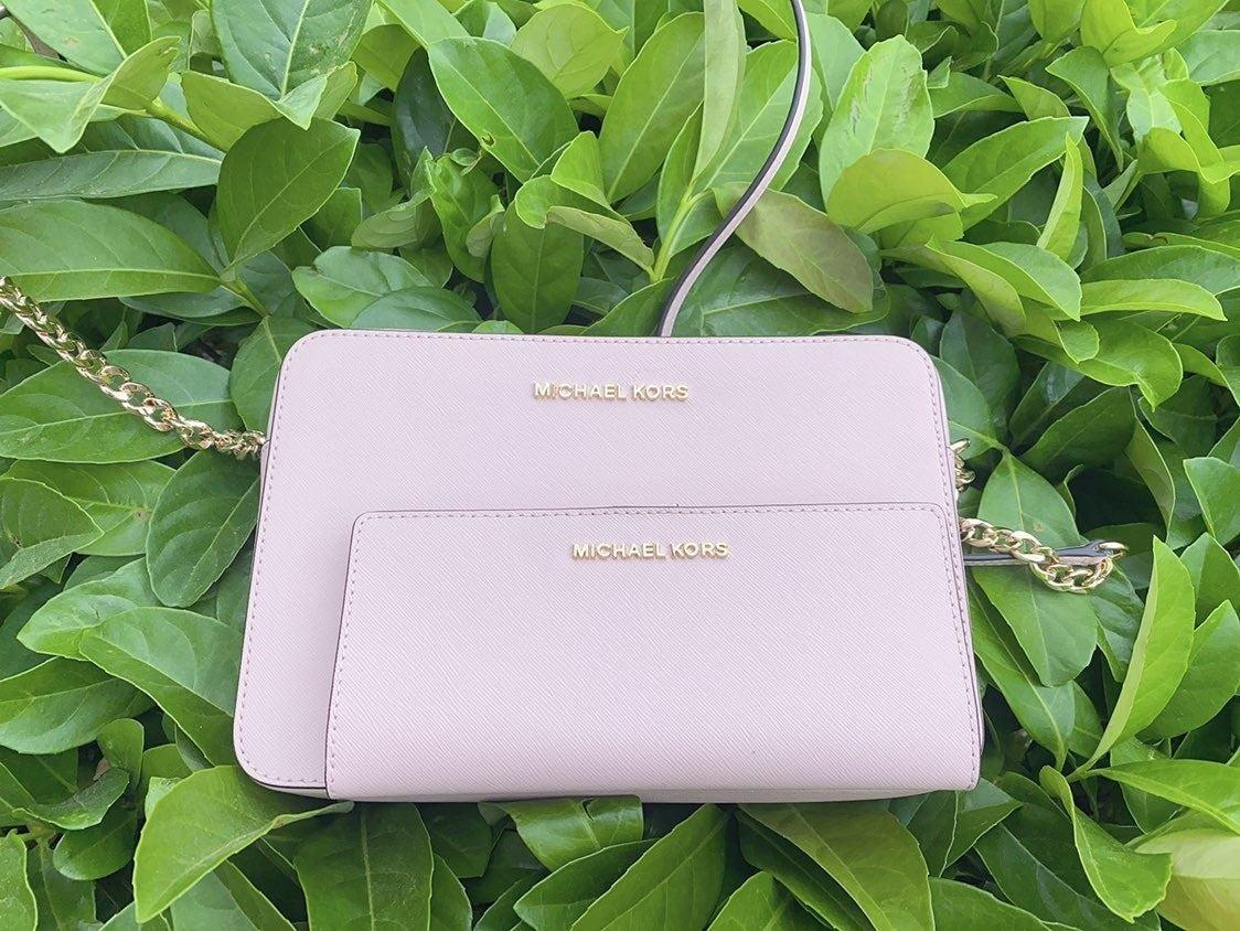 MK JST LG Crossbody Bag + Wallet BLOSSOM