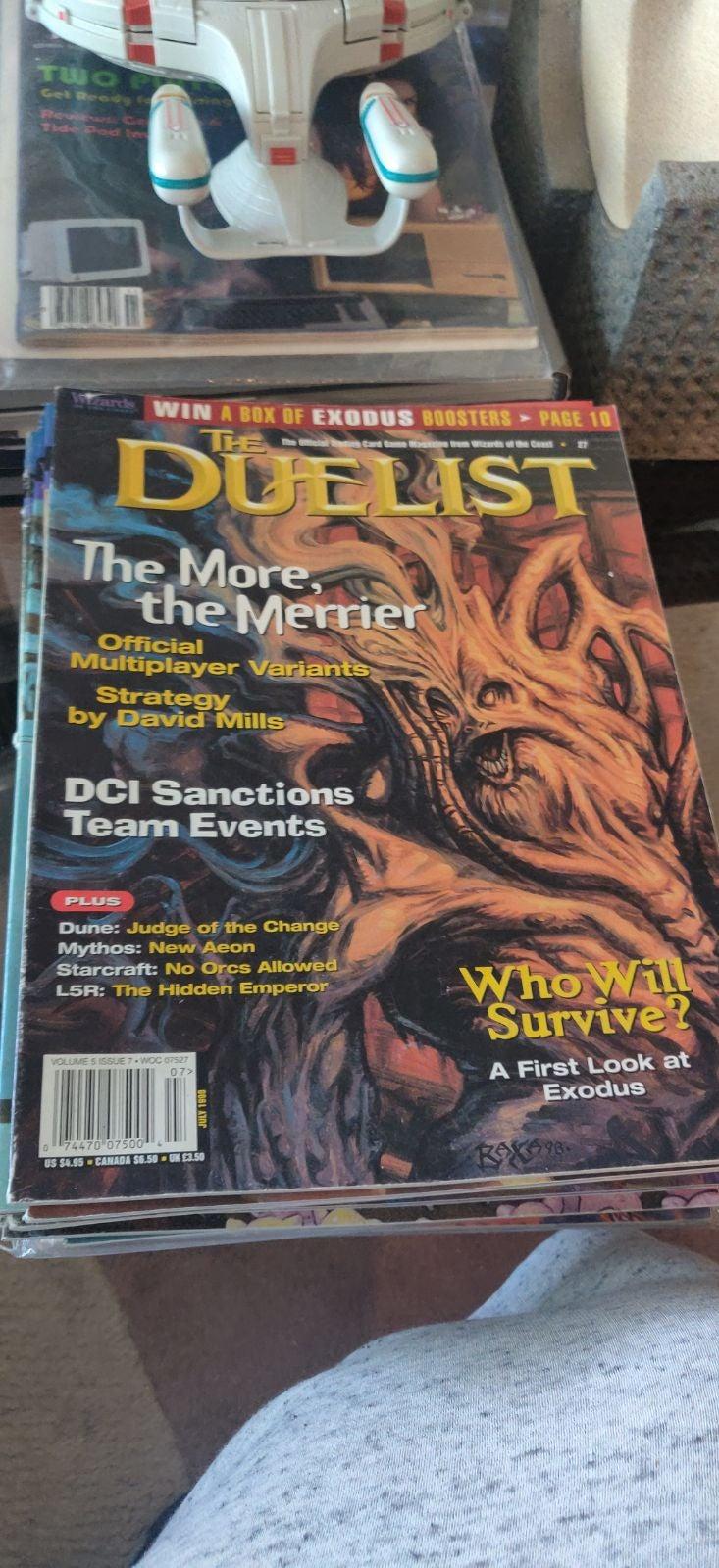 Duelist volume 5 issue 7