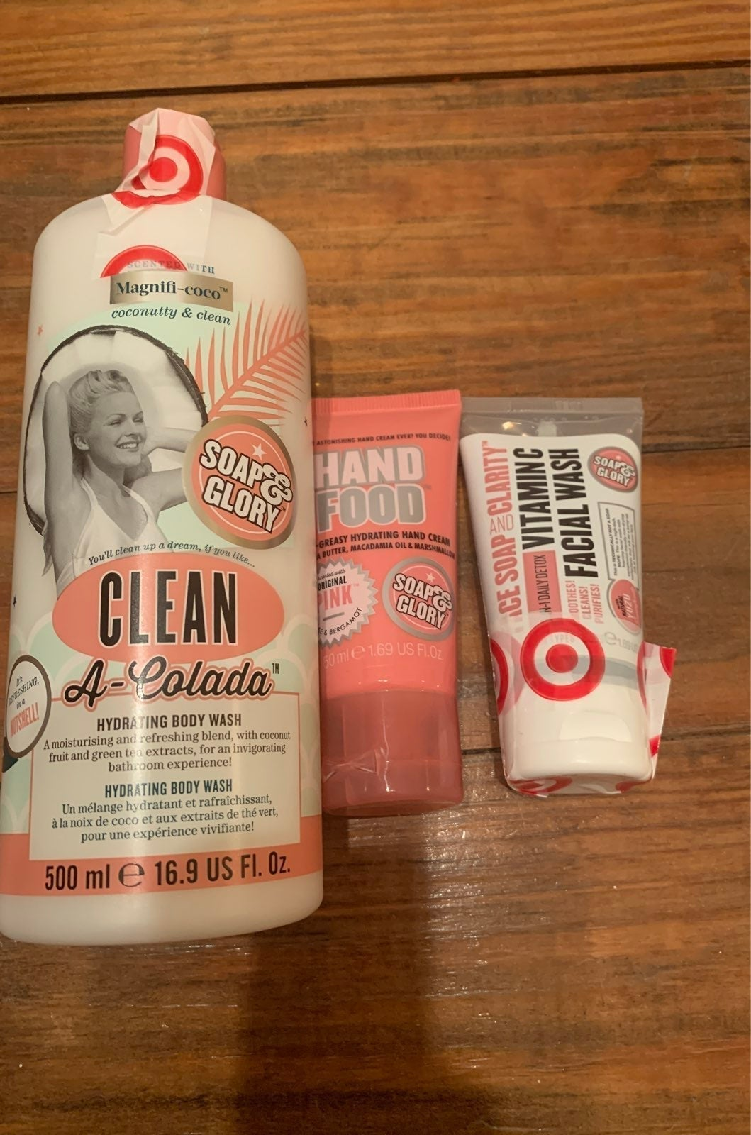 Soap and Glory body bundle