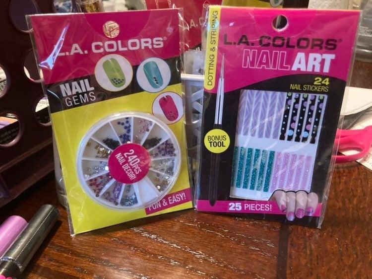 La colors nail art