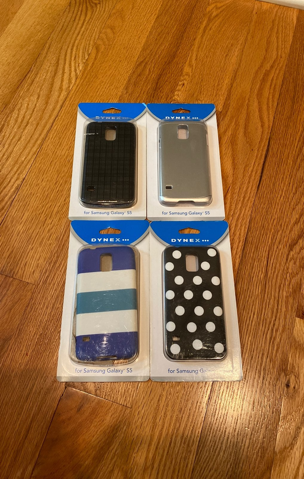 Lot of 4 case samsung s5