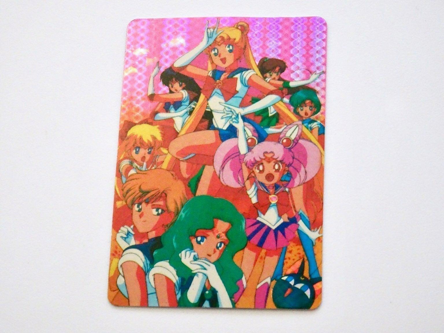 Vintage Sailor Moon Prism Holo Sticker