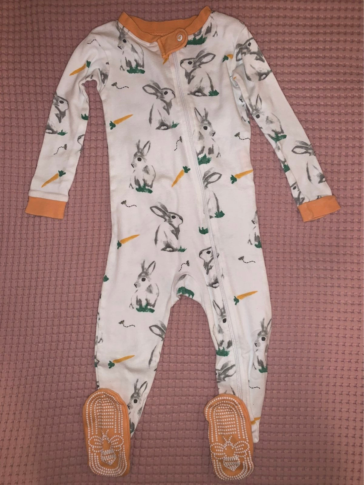 Burts Bees Bunny Pajamas Size 18 Months