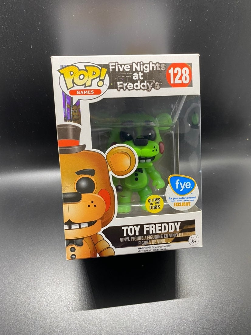 Funko Pop FNAF #128 Toy Freddy GITD