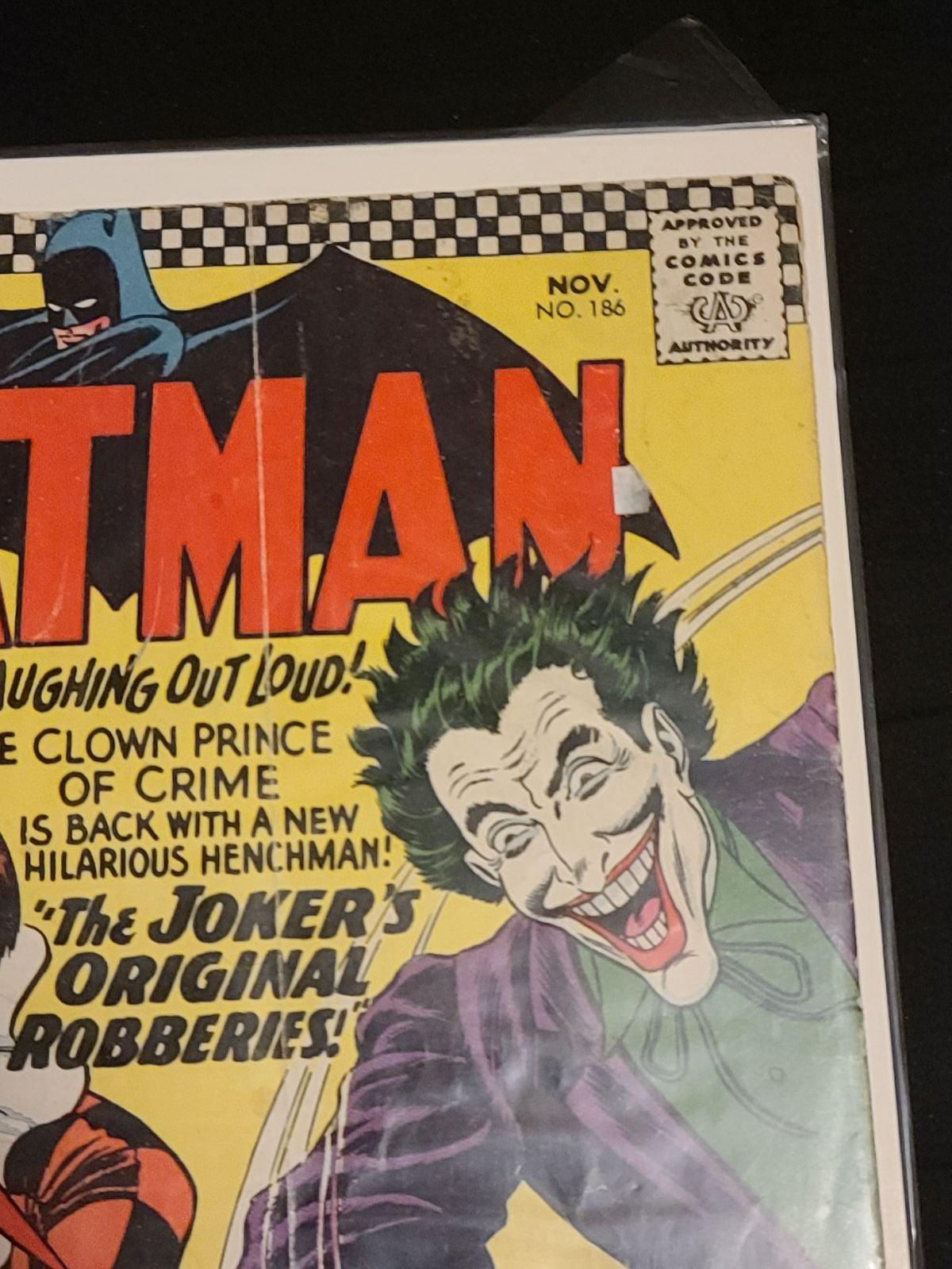 Batman issue #186
