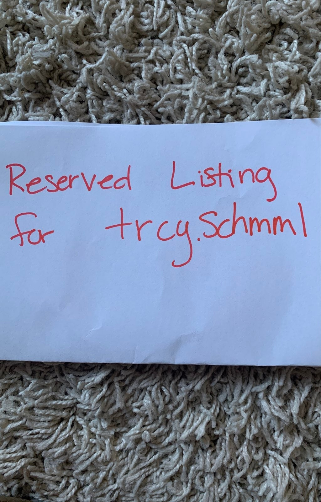 Reserved Listing for Trcy.Schmll
