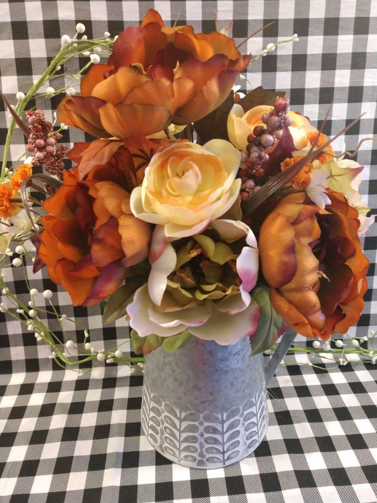 Large Farmhouse Autumn Floral Bouquet