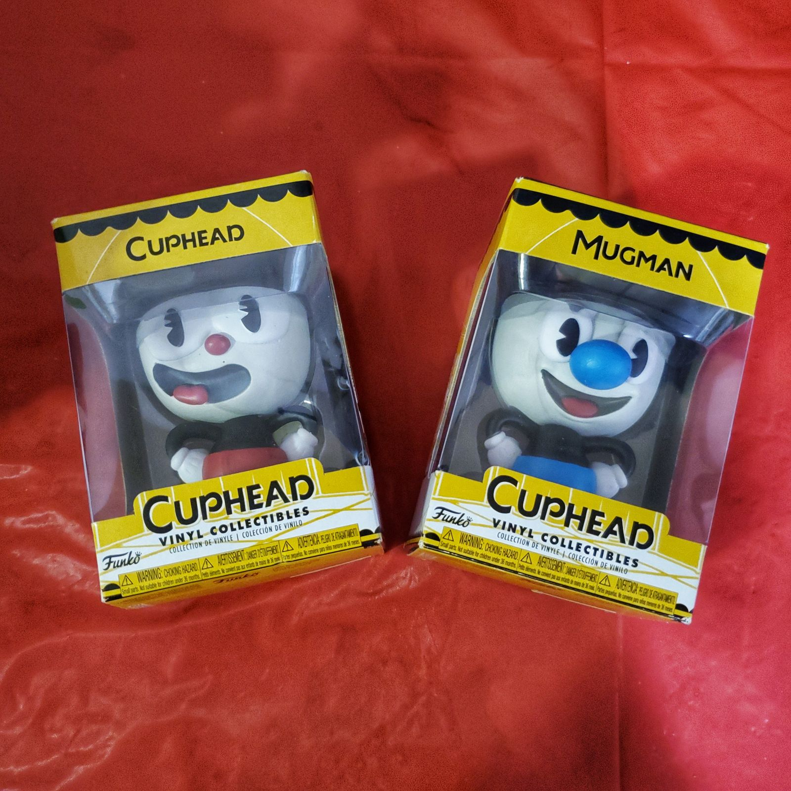 Cuphead & Mugman Funko Pops