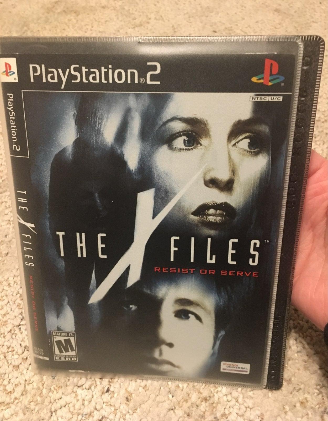 X-Files resist or serve ps2